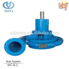 Water kinetic energy (100% energy saving)- cooling tower hydraulic turbine