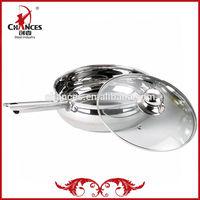 24CM Artistic Stainless Steel Fry Pan As Seen On TV