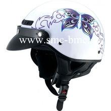 Butterfly Shortly Motorcycle Helmet Summer Helmet