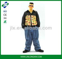 Plastic cartoon characters 3d cartoon character plastic figure plastic toy
