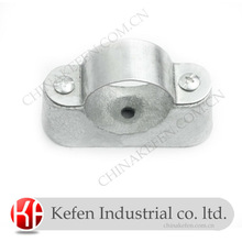 Cast iron Saddle clamps for electrical steel tubes