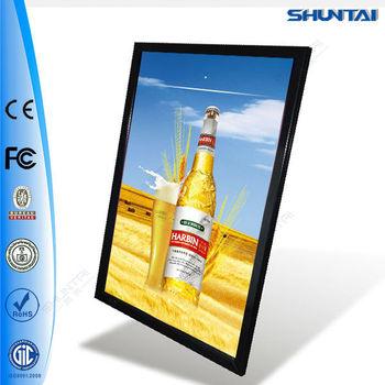 Super slim advertising aluminum picture light frame