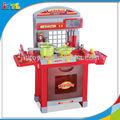 a394656 de cocina de plástico conjunto de juguete de los niños vajilla de cocina de juguete