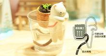 Plantes en pot en céramique pour animaux ct-412 pendentif./ket anneau