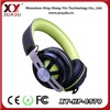 Best sound heavy bass wired stereo headphone from China factory