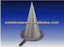 304 stainless steel conical filter strainers(factory)