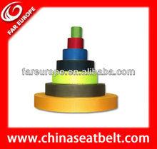 Top quality full body harness webbing pp webbing stripe