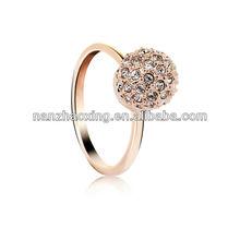 OUXI Zinc alloy Diamond Ring 40059