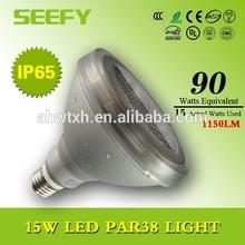 100-277v led par light par38 15w IP65