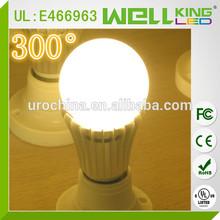 110V High lumens 1100lm 12W 360 CRI>80 E26 cUL A19 LED Bulb