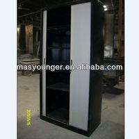 Metal roller door file cabinet