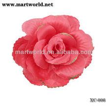 beautiful wedding flower decoration artificial flower fabric rose flower((FL-014)