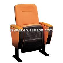 Simple design metal folding cheap theater chairs YA-04-A