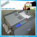 Maquinariade procesamientodepapel alta- velocidad de cortador de la tarjeta