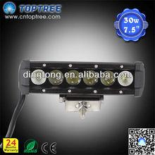 7.5'' Off Road LED Light Bar Single Row 4x4 Driving Light CE RoHs