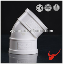 High quality PVC material 45 degree elbow pvc pipe fittings