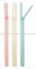 Drinking Straw 100Ps/ drinking straw, plastic straw, cute drink straw, flexible straw