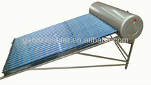 High Quality Best Selling Residential Low Pressure Solar Water Heater, Compact No Pressure calentador de agua solar