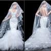Mermaid Julie Vino Wedding Dresses/ 2014 Glamorous Floor-Length Open Back Mermaid Julie Vino Wedding Dresses