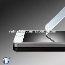 LCD tempered glass screen guard anti fingerprint anti shock for Iphone 4/4S