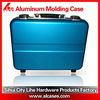 aluminum briefcase laptop metal case dissected foam