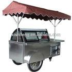 Commercial gelato cart /ice cream van/ frozen ice lolly display