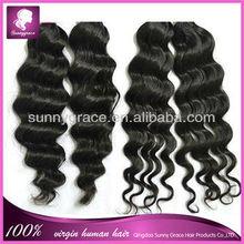 Ideal hair arts strong weft virgin Indian hair