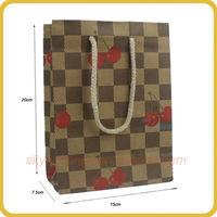 FSC large foil paper bag for chicken oven suitable