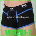 Moda hueco underwear+tank 2013 tops sexy hombres boxeadores transparente& chaleco set
