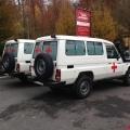 Toyota Land Cruiser 4x4 HZJ 78 Metal Top Ambulance