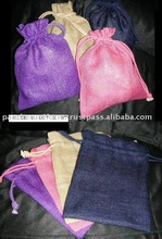 Jute gift pouches