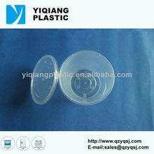 Disposable plastic fruit container