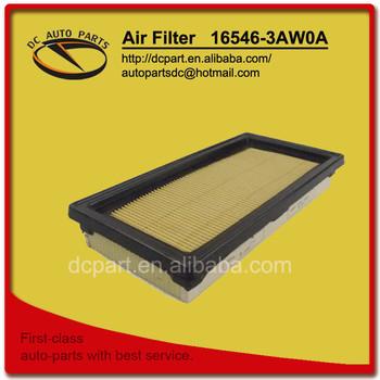 Troca do filtro de ar do Nissan March com motor 1.6 HR16DE com duto MEX/BR. Air_filter_for_16546_3AW0A_NISSAN_TIIDA.jpg_350x350