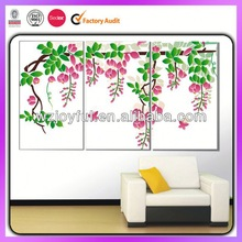 New Style glitter pvc wall sticker