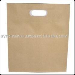 La alta calidad de troquelado de papel Kraft bolsa