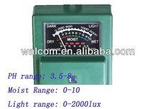 7029 medidor de umidade do solo, Ph do solo medidor de umidade