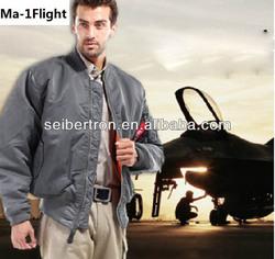 Seibertron MA-1 Flight Jacket Military flight jacket Man winter coat Navy fighter pilot jacket