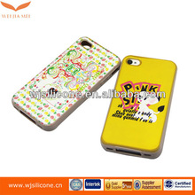 New Popular Silicone Smart Protective Case For Iphone 4