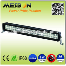 20inch 144W dual row led off road light bar atv