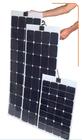 21% high efficiency flexible 10W-200W Sunpower Solar Panels (TUV ,MCS ,UBNS,IEC,ROHS)