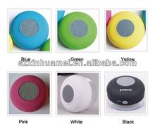 Unique waterproof Bluetooth Shower Speaker box BTS06 when bath to play music