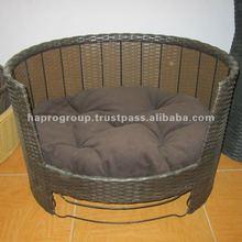 Round Waterhyacinth Pet sleeping Bed