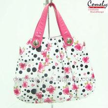 Comely handbag 2015 alibaba express dongguan bag factory floral cheap young girls bag lady handbag purses for teens