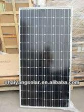 mono solar panel 200watt best price with CE ISO certificate