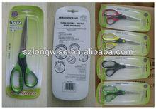 colorful cheap quality plastic scissors stocklot F8312C new fashion cheap scissors stocks