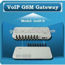 TYH Providing GoIP 8 port GS VoIPM Gateway soft switch