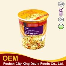 OEM Manufacturer ramen Cup Noodles Indonesia Instant Noodles For Brazil