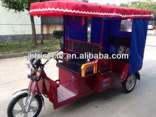 800W brushless motor electric rickshaw three wheel motorcycle
