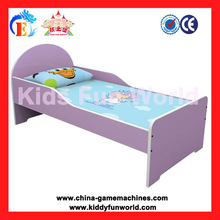 Children Bed kids furniture- Durable purple color baby bed