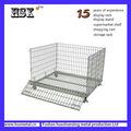 Plegables de almacenamiento de metal jaula de malla HSX-S526 jaulas de exposiciones